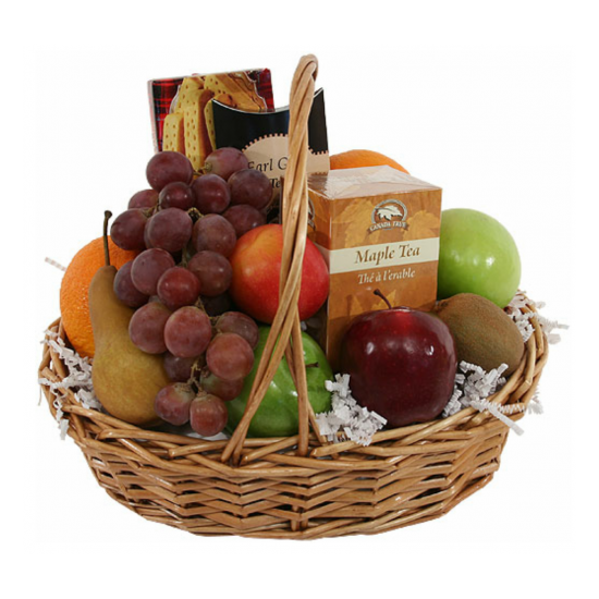 Get Well Fruits and Gourmet Basket