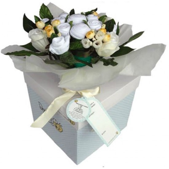 New Born Baby Flowers Bouquet