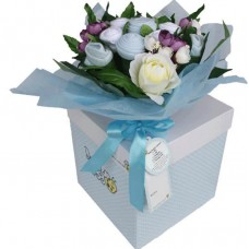 Baby BOY Flowers Bouquet