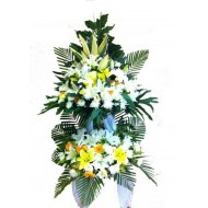 Sympathy Flowers arrangement 4